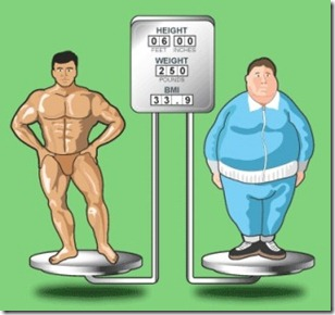 Body builder vs Obeso